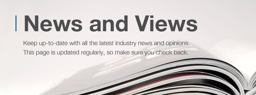 Keep up to date with all the industry news and opinions.